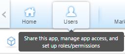 "Screenshot of ""Users"" tab."