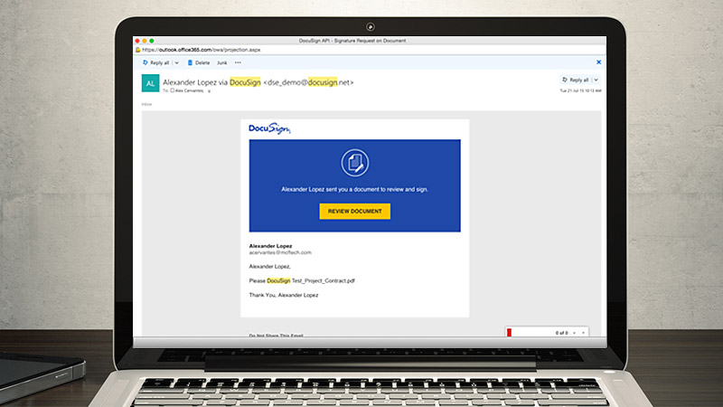Docusign for quick base